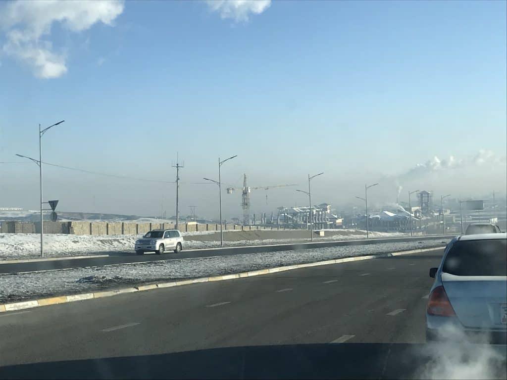 Luftverschmutzung in Ulan Bator